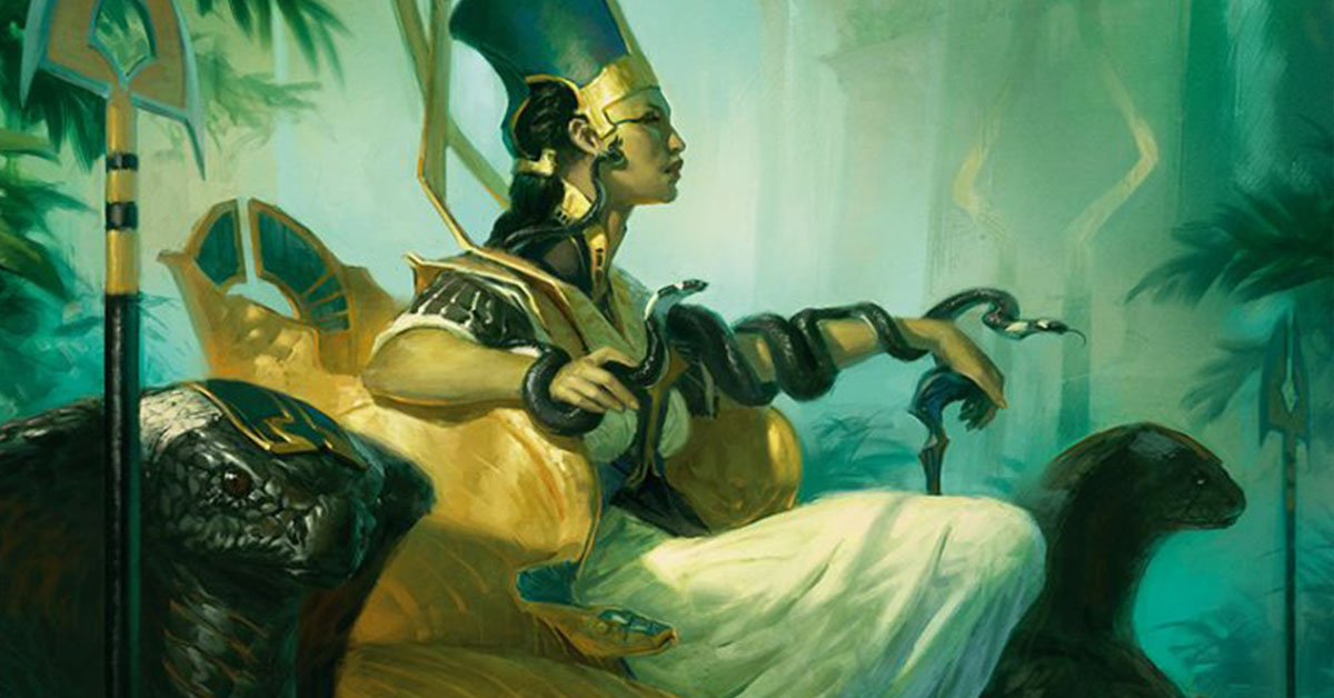Hapatra, Vizier of Poisons – Golgari Wither (7 Tickets)